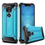 J&D Case Compatible for Moto G7 Play Case, Heavy Duty