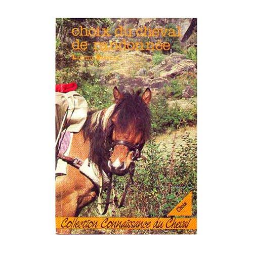 Choix du cheval de randonnée par Bataille