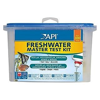 API-Test Qualität Wasser für Aquarien Freshwater Master Test Kit 7Flaschen à 7ml