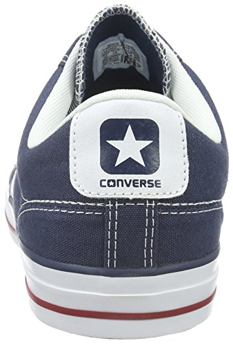 Converse, Star Player Adulte Core Canvas Ox, Sneaker, Unisex - adulto Blu