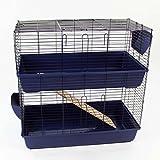 Easipet Large Indoor Rabbit Hutch (Blue)