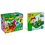 Lego Duplo 2er Set 10865 2304 Witzige Modelle + Grüne Bauplatte