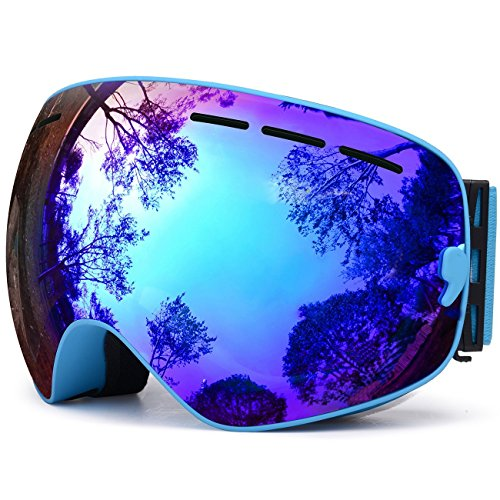 sunglasses restorer Gafas de Snow Modelo Baqueira | Gafas Ventisca para Hombre y Mujer | Lente Intercambiable, Aintiniebla y Antivaho.