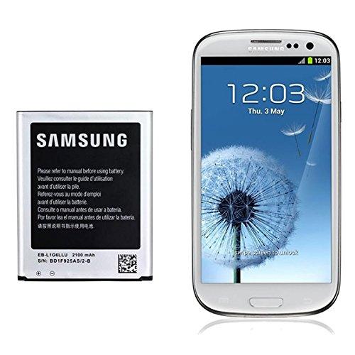 Samsung EB-L1G6LLUC - Batería para Samsung Galaxy S III I9300 (2100 mAh, 3.8 V,...