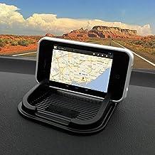 Ibroz - Supporto universale per smartphone, tablet, GPS da agganciare
