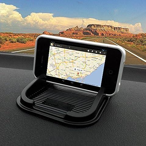 IBROZ Universal-KFZ-Halterung für Smartphones, Tablets, Navigationsgeräte auf Armaturenbrett, Konsole, für