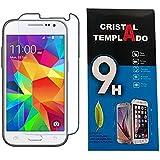 Fologar Protector de Pantalla Cristal Templado para Samsung Galaxy Core Prime G360