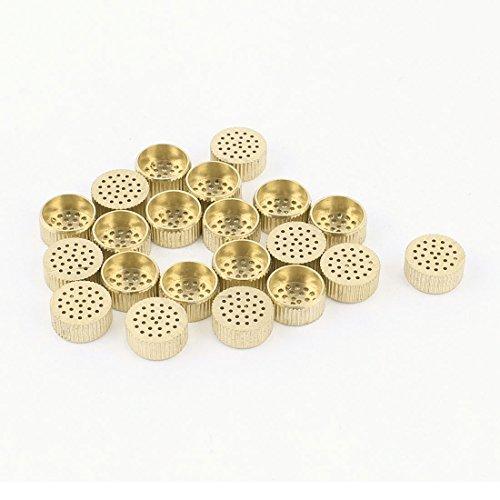 sourcingmapr-20-pz-scatola-nucleo-bocchette-di-rilascio-aria-foro-in-ottone-12mm-x-5mm