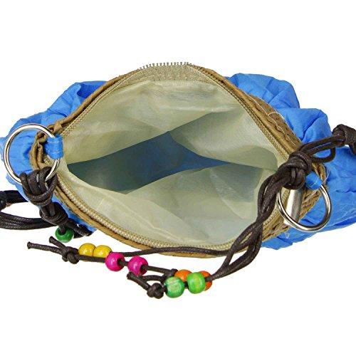 Antonio Damentasche, Umhängetasche, Schultertasche, Handtasche, Urlaubstasche, Abendtasche (B/H/T): 22 x 16 x 7 cm (grün) pink