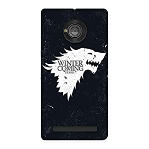 Gorgeous Comming Of Winter Back Case Cover for Yu Yunique