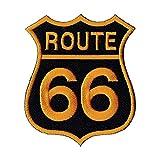 Parche para coser o planchar con logotipo de Ruta 66