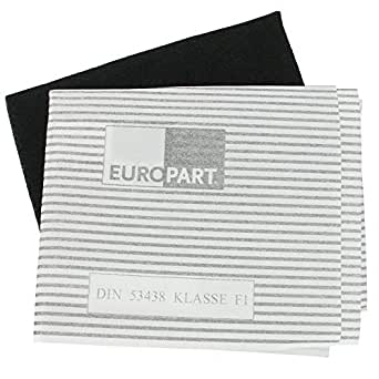 europart kit de filtres de hotte universel 60 cm gros lectrom nager. Black Bedroom Furniture Sets. Home Design Ideas