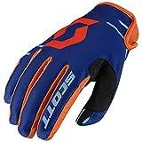 Scott 350 Dirt MX Motocross / DH Fahrrad Handschuhe blau/orange 2017: Größe: M (9)