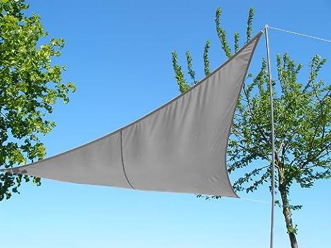 Kookaburra 4.2m x 4.2m x 6.0m Triangle à angle droit Charbon Imperméable Voiles d'Ombrage
