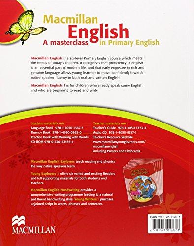 MACMILLAN ENGLISH 1 Language Book - 9781405013673