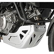 Protezione paracoppa motore Givi Suzuki V-Strom 650 11-17 argento