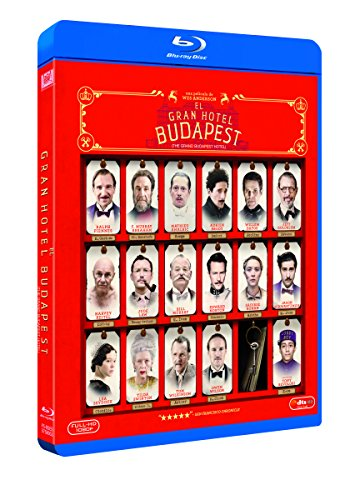El Gran Hotel Budapest [Blu-ray] 51FQpeZLxoL