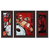#6: Wens 'Folks Party' Wall Art (MDF, 29.5 cm x 24.5 cm, WSP-4280)