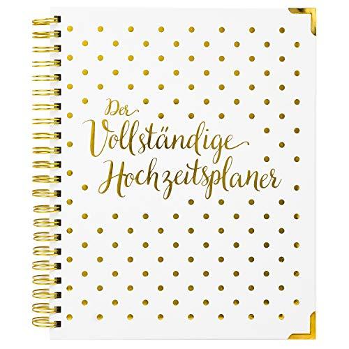 Hochzeitsplaner Deutsch Organizer Buch & Hochzeit Kalender - German Wedding Planner