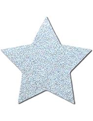 Réflecteur étoile thermocollant pour vêtements d'enfants (4à 11cm)