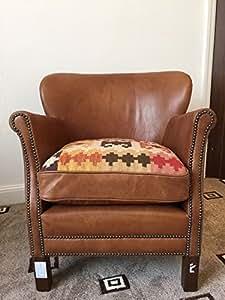 John Lewis Halo Living Little Professor Leather Armchair