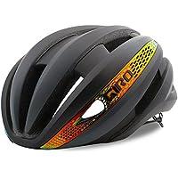 Giro Matte Grey-Firechrome 2018 Synthe MIPS Cycling Helmet