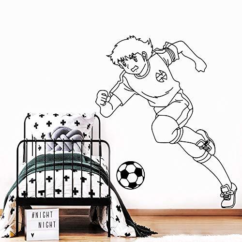 yaonuli Romantische Fußball Vinyl Roll Möbel Dekoration Baby Kinderzimmer Art Deco 50x61cm