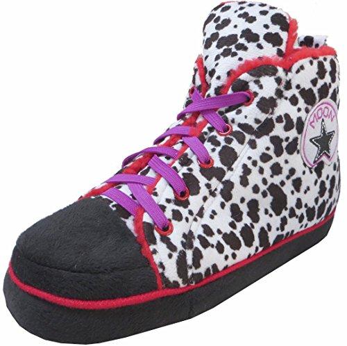 Unisex Pantoffeln im Stile eines Baseballschuhs für Erwachsene Dalmation