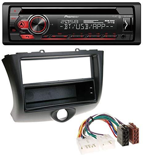 caraudio24 Pioneer DEH-S410BT MP3 CD USB AUX Bluetooth Autoradio für Toyota Yaris (2003-2006)