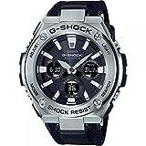 Casio Herren Analog Klassisch Quarz Uhr mit Harz Armband GST-W130C-1AER