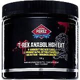 Muskelaufbaumittel - T-REX - Anabol HgH EXT - Testosteron Booster und Muskelaufbau - 100 g - Anaboles Muskelwachstum für die besten Bodybuilding Giganten