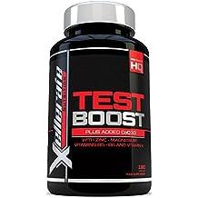 Test Boost para Hombres- 180 Cápsulas Suplemento de Apoyo Nutritivo de Testosterona - Los Ingredientes