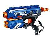 #4: Emob Blaze Storm Manual Soft Bullet Shooting Pistol Toy Gun With 10 Darts