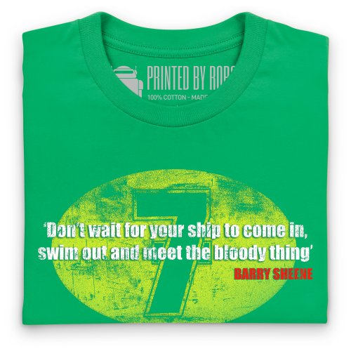 Barry Sheene T-Shirt, Herren Keltisch-Grn