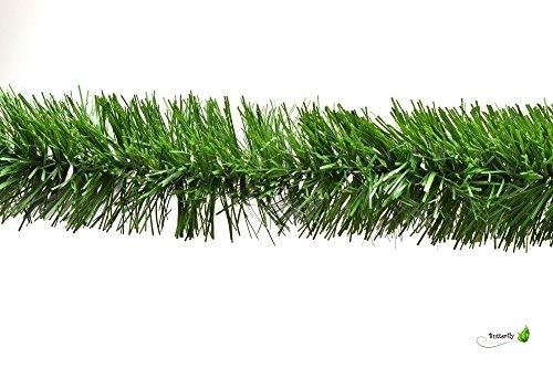 3m Grasgirlande Ø 7cm grün / Tannengirlande Weihnachtsgirlande Girlande Weinachten Christbaumschmuck Tanne Gras Deko