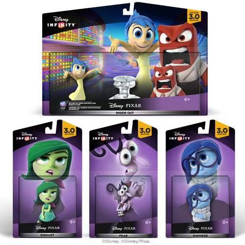 Disney Infinity 3.0: Vice-Versa lot de jouets - Amazon Exclusif de Disney Infinity