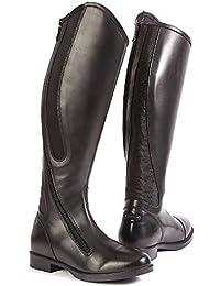 Toggi - Botas de equitación para hombre, color negro, talla 45.5
