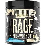Warrior RAGE Pre Workout Supplement Poeder 392g - Hoge Cafeïne Energie & Focus - 45 porties - Blazin' Blue Raspberry