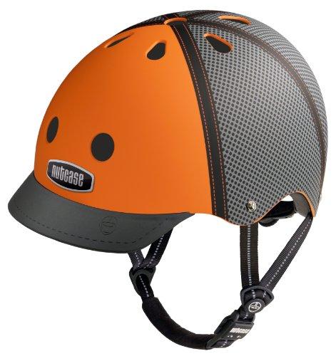 Preisvergleich Produktbild Nutcase - Street,  Fahrradhelm für Erwachsene,  Trucker Orange,  Groß