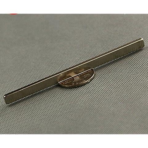 AOMAG® 100X 6X 3mm barra de bloque de 4pcs N42imán neodimio barra Neodym permanente tierras raras imanes de tierras raras...