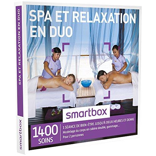 Idee Cadeau 1 An De Couple.Smartbox Coffret Cadeau Couple Spa Et Relaxation En Duo Idee Cadeau 2460 Soins 1 Seance De Bien Etre Jusqu A 2h30 Pour 2