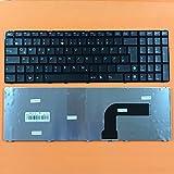 kompatibel für AsuS P52, P52F Tastatur - Farbe: schwarz - Deutsches Tastaturlayout - Version 1
