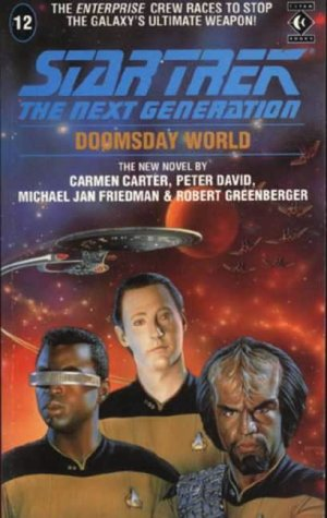 Cover of Doomsday World (Star Trek: The Next Generation 12)