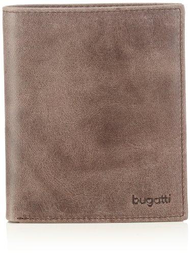 Bugatti Bags Bogotá 49216102 Unisex-Erwachsene Geldbörsen 10x12x1 cm (B x H x T) Braun (braun 02)