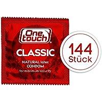 Preisvergleich für One Touch 144 Stück Kondome CLASSIC Hauchzart für Intensives Empfinden