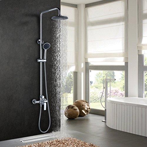 ZYJYdie dusche um top - spray kalt wasser mischen ventil kupfer tap wasser regen - wc dusche set lift gürtel europäische hand (Durchlauferhitzer Wc Ventil)