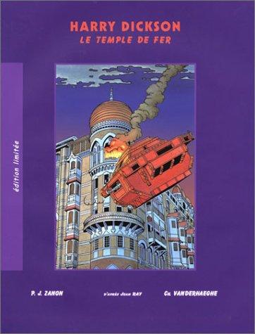 Harry Dickson, tome 8 : Le Temple de fer (édition limitée)