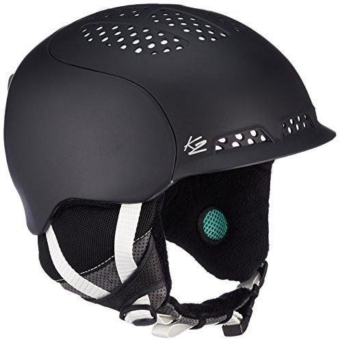 K2 Skis Damen Helm Skihelm Virtue Black Größe S