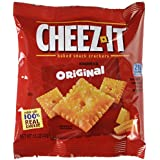 Cheez-It Crackers, 1.5oz Single-Serving Snack Pack, 8 Packs/Box, Sold as 1 Box