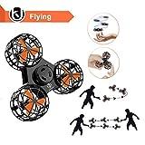 Bonitronic Nolvety fliegen Spielzeug, Handheld Spinning Flug Spielzeug Outdoor-interaktives...